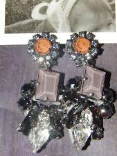Anthropologie Rada Cadenza Drops Crystal Earrings-$228 MSRP