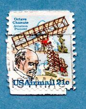FRANCOBOLLO Stati Uniti 1979 posta aerea. Octave Chanute