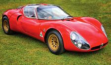 Alfa Romeo 33 Stradale XXL 1 Piece 1 Meter Wide Glossy Poster! **UK SELLER**