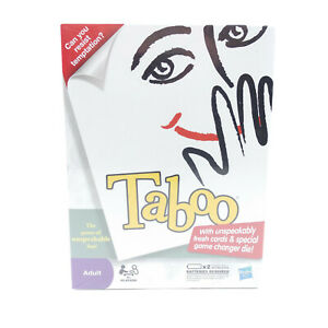Taboo Adult Board Game of Unspeakable Fun 2010 Edition New and Sealed Hasbro