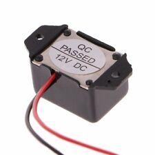DC 12V 85dB Mini Mechanical Vibration Electronic Alarm Buzzer Constant Tone US