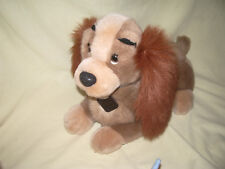 """ ANCIENNE PELUCHE DE LA BELLE DU FILM LA BELLE ET LE CLOCHARD DISNEY 40 CM"