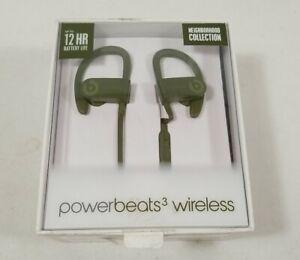 Beats by Dr. Dre Neighborhood Collection Powerbeats3 Turf Green FREE SHIP