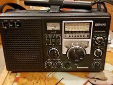 Vintage Panasonic RF-2200 Shortwave radio 8 Band AM FM with Manual works vguc