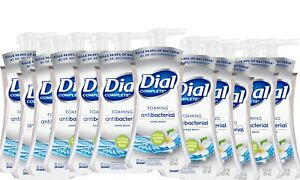 12  Pack Dial Complete Foaming Hand Wash White Tea Kill Bacteria 7.5 Oz Each