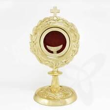 2678 Reliquiar Reliquie Monstranz für Klosterarbeit m. Große LUNA Hausaltar 25cm