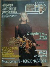 MIP Magazyn Ilustrowany Przyjaciółka 9/31 - 1994 Polish Magazine