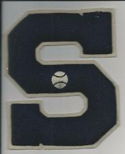 1943 SEASON SUFFERN HIGH SCHOOL BASEBALL VARSITY LETTER, SUFFERN, NEW YORK