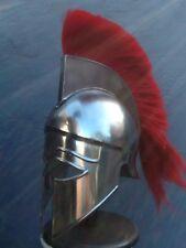 GREEK CORINTHIAN HELMET RED PLUM