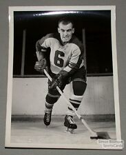 Original 1956-57 Montreal Royals Guy Black Photo