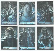 1995 Fleer Ultra Waterworld Movie set of 6 Holograms chase insert cards