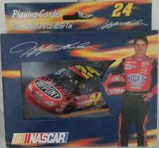 Jeff Gordon #24 NASCAR Two Decks of Playing Cards in a Collector Tin