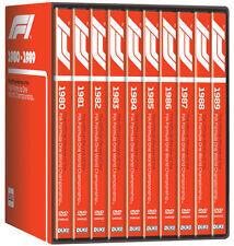 FORMULA ONE  1980-1989 80s F1 Season Reviews 10x Grand Prix - NEW 10 DVD Boxset