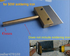 2PC Electric shovel Knife LCD glass eradicate UV glue for 6mm 60W soldering iron