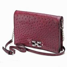 NWT Dana Buchman Brite Shoulder Bag Clutch Purse, Trendy Deep Red, FREE S&H, $79