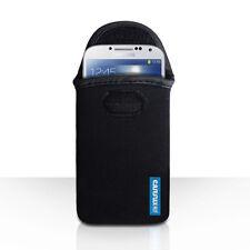 Caseflex Samsung Galaxy S8 Case Best Neoprene Pouch Skin Cover Black