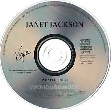 JANET JACKSON CD What'll I Do SPANISH PROMO single original NEW