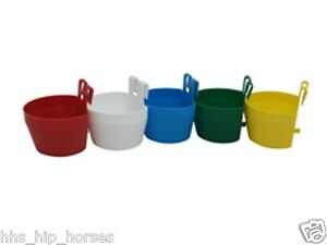Cage & Run Cups/Hangers ~ Chicken/Hen/Poultry ~ Treat & Grit Feeder - 3, 5 or 10