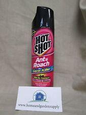 "1 17.5oz Can of Hot Shot® Ant & Roach Plus Germ Killer Fresh Floral ""12 weeks"""