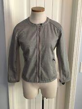 LOLE Women��s MEDIUM Jacket Gray Design With Stretch & MUSIC Pocket