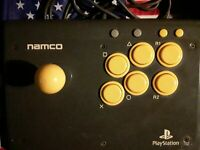 EXTREMELY RARE NAMCO JOYSTICK CONTROLER FOR PLAYSTATION.