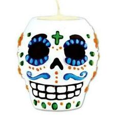 Day of the Dead Male Tea Light Candle Holder