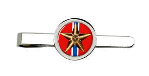 Bronze Star Medal Tie Clip