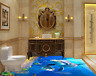 3D Seabed Dolphin 593 Floor WallPaper Murals Wall Print 5D AJ WALLPAPER AU Lemon