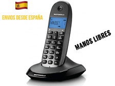 Teléfono Inalámbrico Motorola C1001LB+ Con Manos Libres Incorporado Agenda