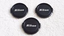 NIKON VINTAGE 52MM FRONT LENS CAPS LOT OF 3