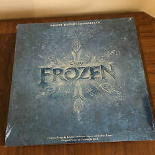 FROZEN DELUXE EDITION SOUNDTRACK AUDIOPHILE 180 GRAM 3 COLOURED LP'S, AUDIOPHILE