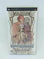 Sony PSP Playstation Portable TALES OF THE WORLD Radiant Mythology 2 Namco Japan