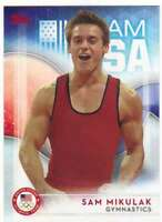 2016 Topps US Olympic Team USA Hopefuls #8 Sam Mikulak  Gymnastics