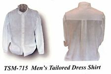 Civil War Tailored DRESS SHIRT PATTERN Timeless Stitches 715  Multi-sized S-XL