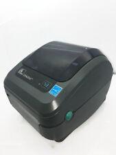 Zebra GX420d Thermal Barcode USB Network LAN RJ45 Shipping Label Printer