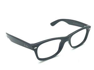 Ray-Ban RB 2132 New Wayfarer 901 Black Square Sunglasses Frames 52-18 Italy