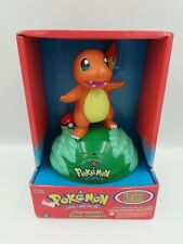 Vintage Pokemon Charmander Room Greeter Pokeball Trendmasters Nintendo 1999 New