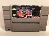 Populous SNES (Super Nintendo Entertainment System, 1991)TESTED*ACCEPTABLE!READ!
