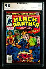 BLACK PANTHER #1 (1977) PGX 9.6 NM+ Near Mint Plus signed STAN LEE +CGC!!!