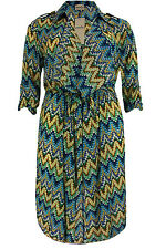 New Simply Be Emily Beach Cover Up Kimono Duster Coat Plus Size 16 - 26