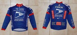 United States Postal Service Cycling Shirt M Jersey Cycle USA  Nike Dri-Fit