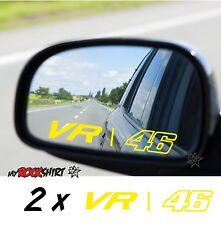 Vr 46 Rossi 2 x Aufkleber Sticker  Aussenspiegel Spiegel Aufkleber Autoaufkleber