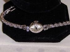 """ROLEX 14K Gold & Diamond Ladies Swiss  W/BOX DIAMONDS EVERY WHERE """"GORGEOUS"""""""