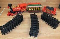 Genuine Walt Disney World Railroad Toy Plastic Collectible Train Set **READ**