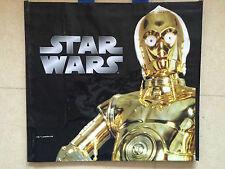 CABAS BAG COLLECTOR SAC CADEAU STAR WARS N°6 C-3PO 49x44 CM NEUF