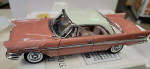 Danbury Mint 1957 Chrysler New Yorker Sport Coupe Hardtop 1/24, NIB, See ad (8j)