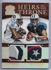 2015 Crown Royale Heirs to the Throne Marcus Mariota Bishop Sankey Relic 03/10