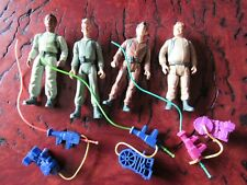1984 Ghostbusters Action Figures Lot Columbia Pictures W/ 3 Ghosts Proton Packs