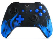 BLUE FIRE Xbox One Rapid Fire Modded Controller 40 Mods COD WW2 BO3 IW GOW 4