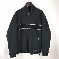 Vtg Abercrombie Fitch Men's Large Full Zip Reversible Mountain Fleece Jacket
